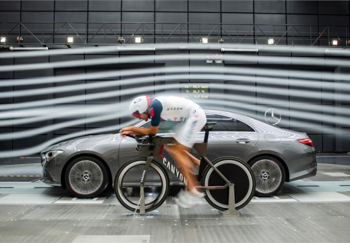 Mercedes-Benz: Aerodynamik